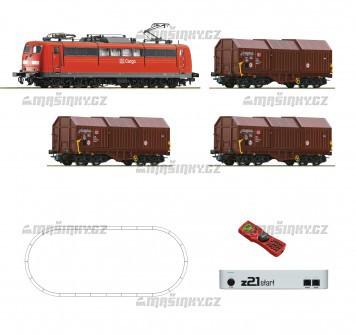 H0 - Digitální start set s nákladním vlakem a z21 Start, DB AG
