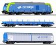 TT - Start set s dieselovou lok. TRAXX PKP, Cargo