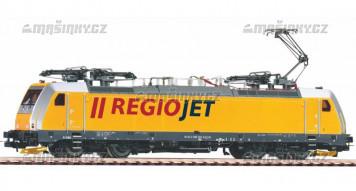 H0 - El. lok. BR 186 Regiojet (analog)