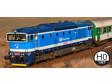 H0 - Dieselová lokomotiva 750 712 - ČD (DCC, zvuk)