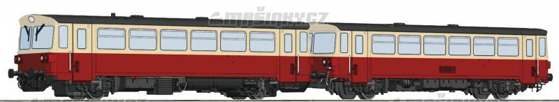 H0 - Motorový vůz M 152.0 s přípojným vozem Blm - ČSD (DCC, zvuk) #1