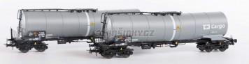 H0 - Set dvou kotlových vozů - ČD Cargo