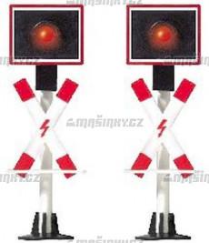 TT - Přejezdová výstražná světla, 2 ks