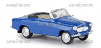 H0 - Škoda Felicia kabriolet - modrá