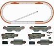 H0 - Rozšiřující kolejový set ke startsetům č.1