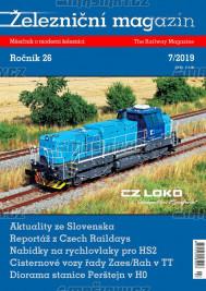 Železniční magazín 7/2019