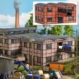H0 - Tovární sklad s můstkem