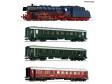 H0 - 4 ks. Set: Parní lokomotiva BR 03.10 a expresní vlak, DB (DCC, zvuk)
