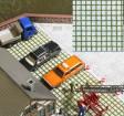 H0 - 3D dekorativní panely - zámková dlažba