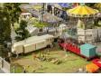 H0 - Sada lunaparkových karavanů I.