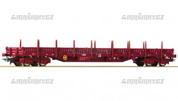 H0 - Plošinový vůz s klanicemi - ČSD (nové číslo)