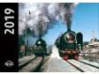 Kalendář nástěnný 2019 lokomotivy (malý)
