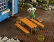 G - Pivní stůl a lavice