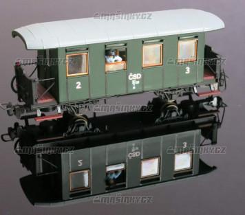 H0e - Osobní vůz řady BCi/ú - ČSD