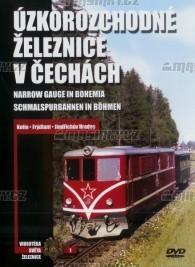 DVD - Úzkorozchodné železnice v Čechách - 1