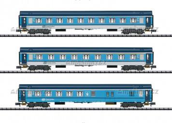 N - Set tří osobních vozů UIC-Y - ČD