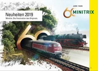 Minitrix novinky 2019