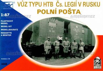 H0 - Vůz HTB - polní pošta