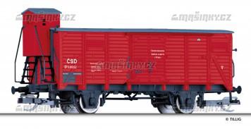 TT - Uzavřený vůz Gg - ČSD