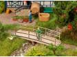 H0 - Malý dřevěný most - Laser Cut