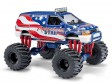 H0 - Dodge Ramvan Monster Truck,Stars&Stripes