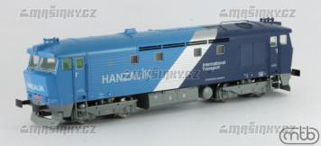 H0 - Dieselová lokomotiva  749 263 Hanzalík - ČD (DCC, zvuk)