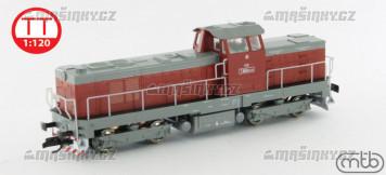 TT - Diselová lokomotiva T466.0134 - ČSD (analog)