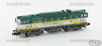 N - Diesel-elektrická lokomotiva 754 023 - ČD (analog)