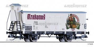 """TT - Chladírenský pivní vůz """"Krakonoš"""" - ČSD"""