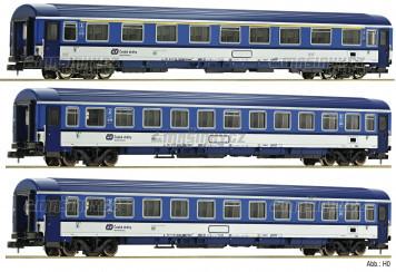 "N - Set tří vozů ""EC Porta Bohemica"" (díl 2), ČD / DB AG"