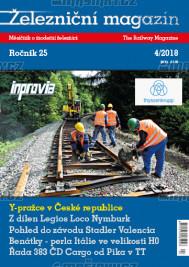 Železniční magazín 4/2018
