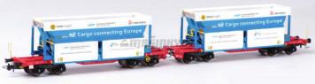 H0 - Set dvou vozů ORE - SZ Cargo / Cinkárna