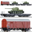 TT - Set t�� vojensk�ch voz� - �SD