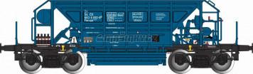 H0 - Vysokostěnný čtyřnápravový vůz Faccpp na přepravu štěrku - ČD