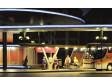 H0 - 2 autobusové zastávky s plachtami, LED osvětlení