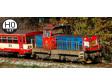 H0 - Diesel-elektrická lokomotiva řady 714 020 - ČD (analog)