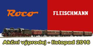 Listopadový výprodej ROCO Fleischmann