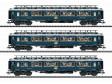 """H0 - Tři rychlíkové vozy CIWL - Set 2 """"Simplon-Orient-Express"""""""