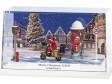 """H0 - Malé diorama """"Veselé Vánoce XXII - Rychlý jako blesk"""""""