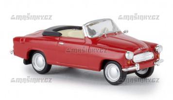 H0 - Škoda Felicia kabriolet - červená