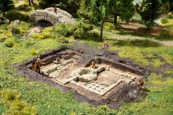 H0 - Výkop římských termálních lázní