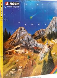 """H0 - Adventní kalendář """"Vánoční betlém"""""""