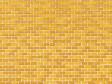 H0/TT - lepenka se vzorem okrového cihlového zdiva 5 ks