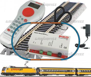 H0 - Digitální set Regiojet s ovládáním Piko SmartControl ® light