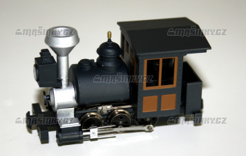 H0e - Úzkorozchodná parní lokomotiva Porter 0-6-0 (analog)