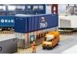 H0 - 40' Hi-Cube Container P&O