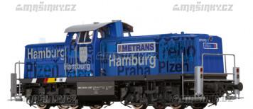 "H0 - Dieselová lokomotiva řady 295 ""Hamburg"" - Metrans  (DCC, zvuk)"