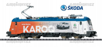 H0 - Elektrická lokomotiva 380 004-2 Škoda 109 E - ČD (DCC, zvuk)