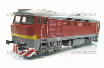 H0 - Dieselová lokomotiva řady T478.2068 ČSD - (analog)