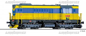 TT - Dieselová lokomotiva 740  -OKD Doprava a.s. (CZ) (analog)